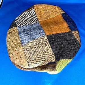 GUC Vintage Hanna Hats Small Wool Cabbie Driver